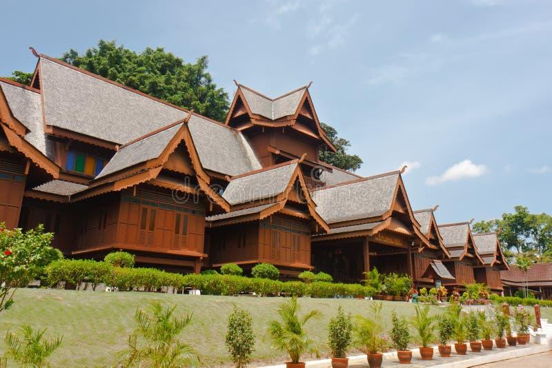 Melaka苏丹王国宫殿 免版税库存照片
