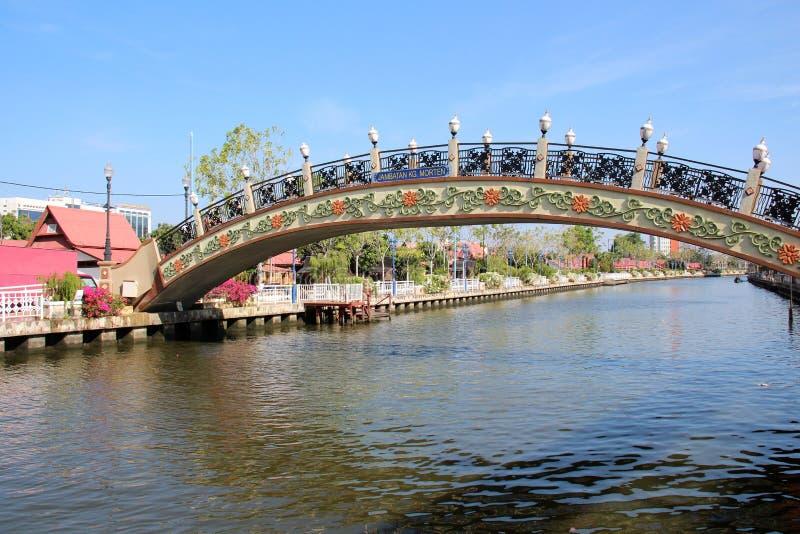 Melaka-Brücke stockbilder