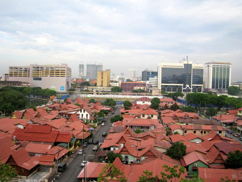 Melaka Kampung morten, Малайзия стоковое фото rf