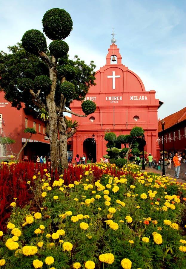 Melaka, Malasia: Iglesia de 1753 holandeses imágenes de archivo libres de regalías