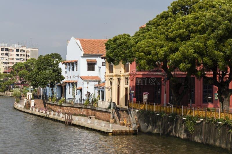 Melaka, Malaysia, December 11 2017: The old town of Malacca royalty free stock photo