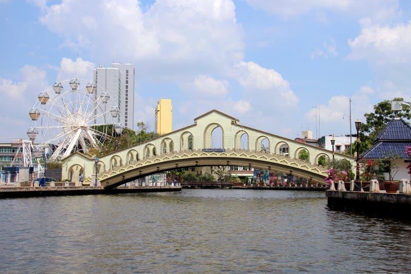 Melaka most obrazy stock