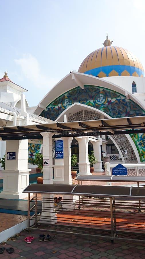 Melaka van Masjid selat royalty-vrije illustratie
