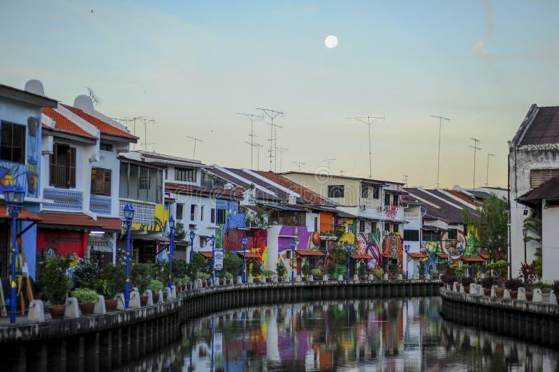 Download Melakarivier redactionele fotografie. Afbeelding bestaande uit cruise - 54078252