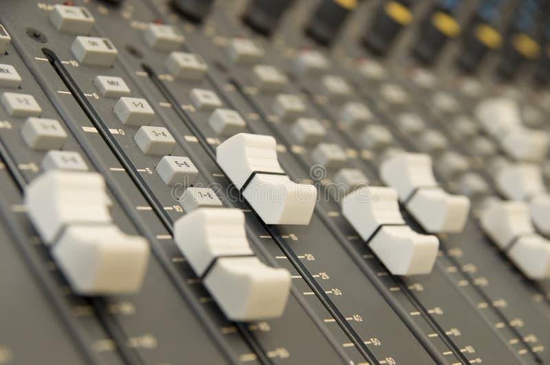 melanżer muzyki dźwięk obraz stock