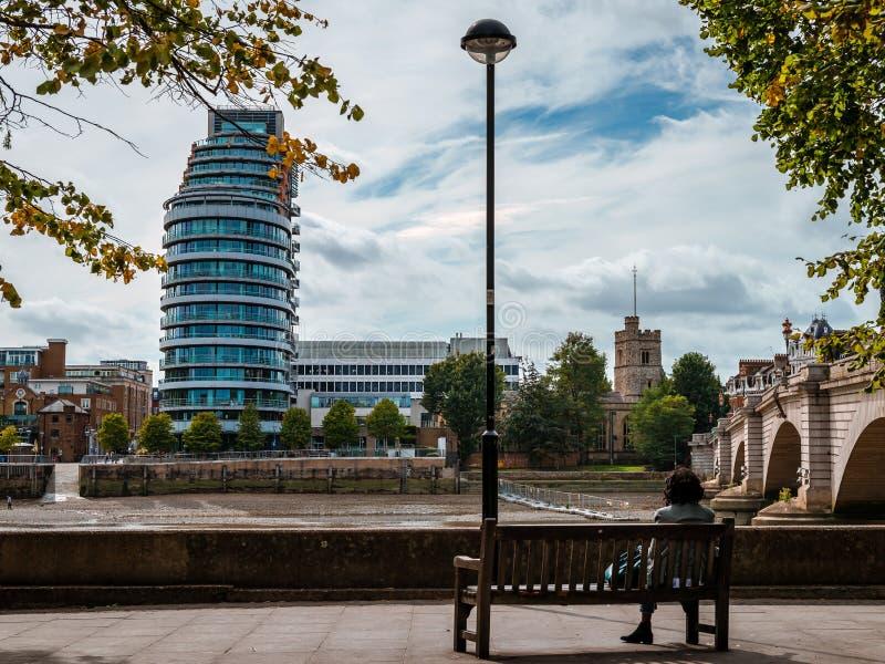 Melancholia w Fulham zdjęcie stock