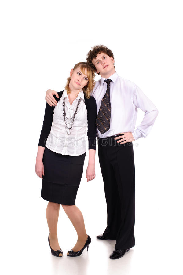 Download Melancholic Business People Stock Image - Image: 20658477