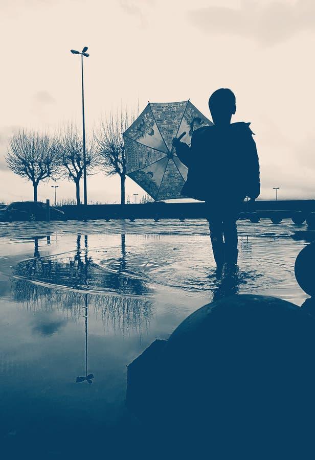 melancholie stockfoto