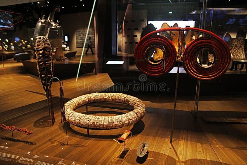 Melanesia sztuka obraz royalty free