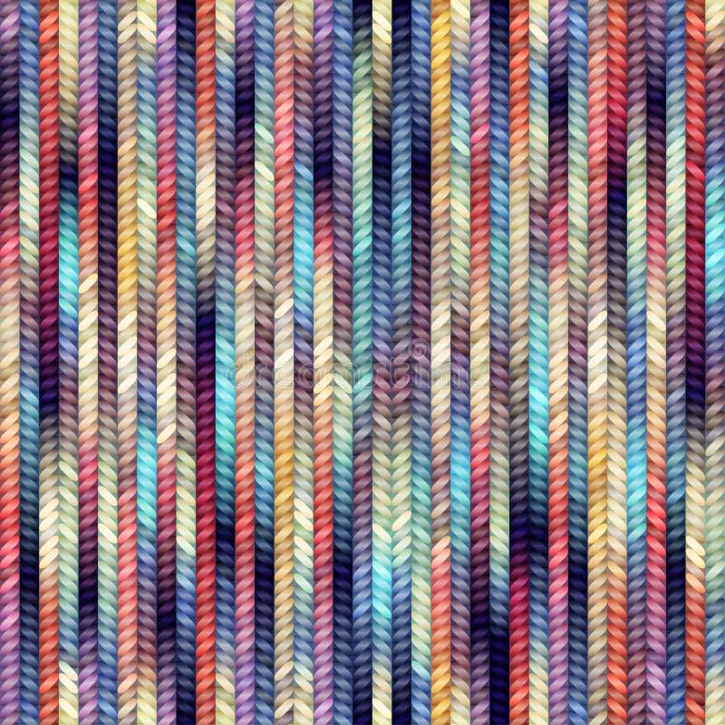 Melange knitting stock illustration