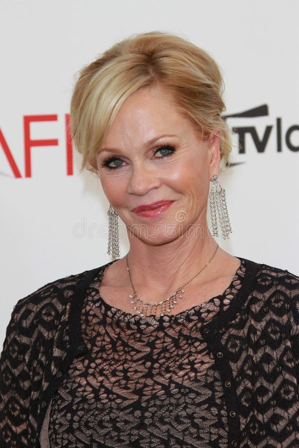 Melanie Griffith at the AFI Life Achievement Award Honoring Shirley MacLaine, Sony Pictures Studios, Culver City, CA 06-07-12 stock photos