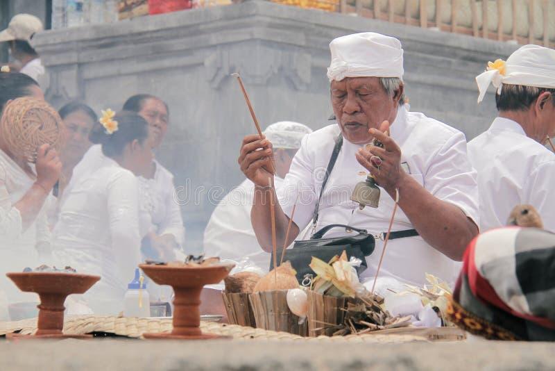 Melasti Bali photographie stock libre de droits