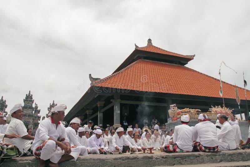 Melasti Bali photo libre de droits