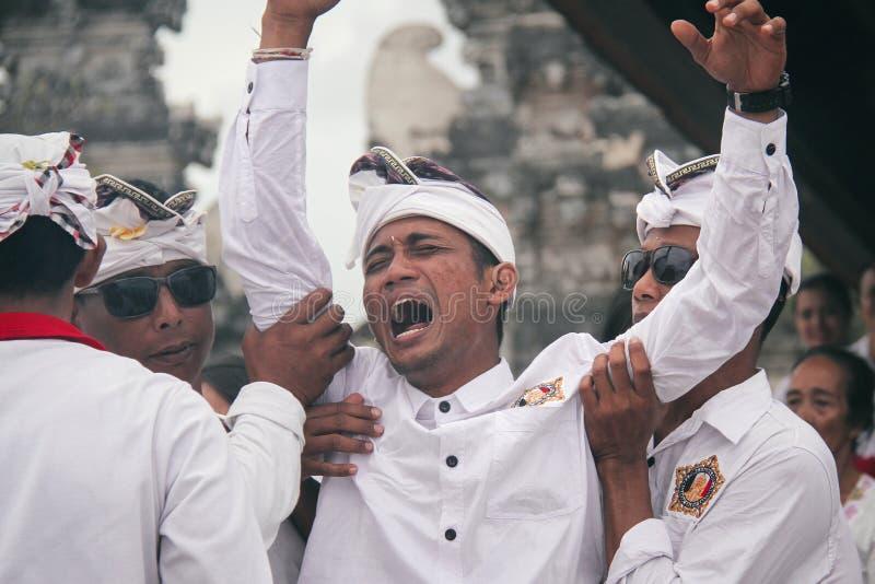 Melasti Bali photographie stock