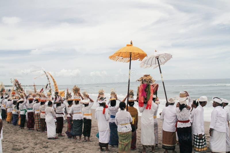 Melasti Bali image stock
