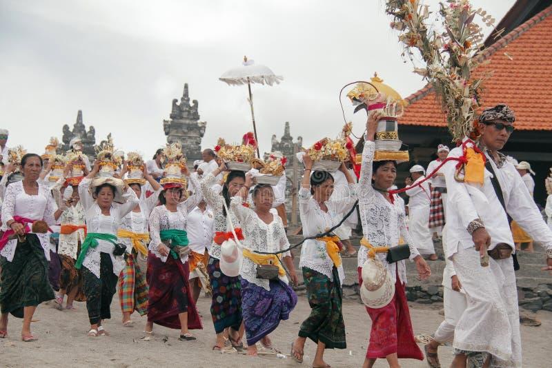 Melasti Bali image libre de droits