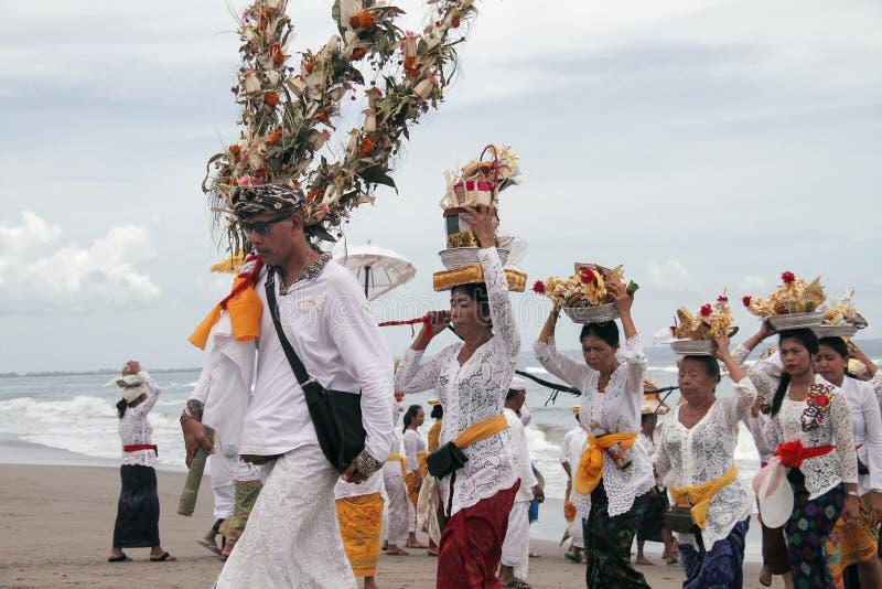 Melasti Bali imagens de stock
