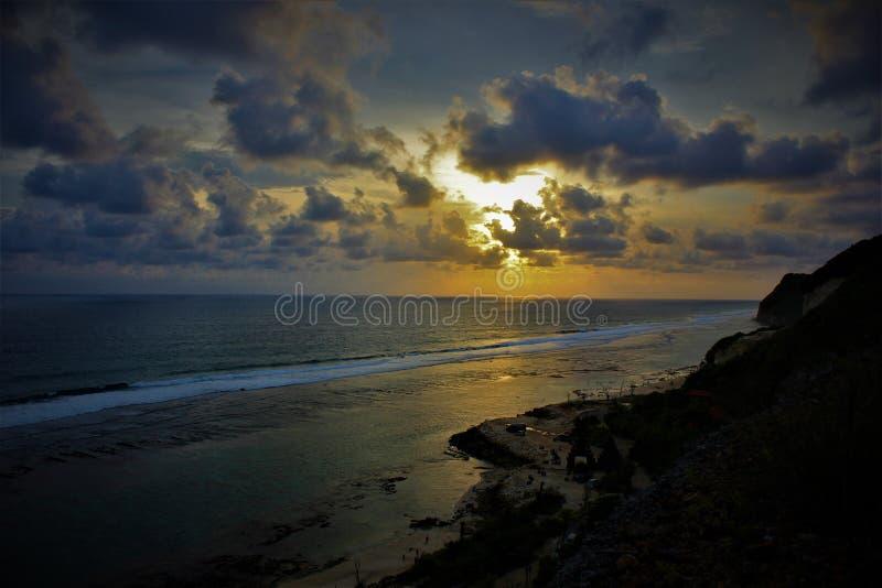 Melasti strand royaltyfri foto
