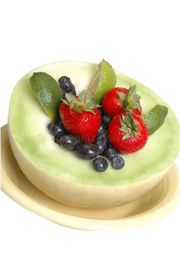Download Melata con frutta 3 fotografia stock. Immagine di fragole - 219424