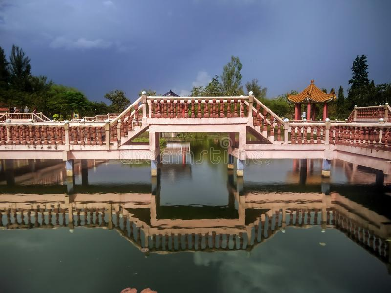Melati jezioro w Kangar, Perlis obraz stock