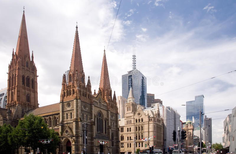 Melbourne fotografia stock libera da diritti