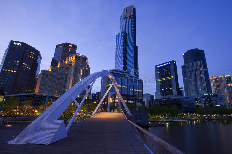 Melbourne images stock