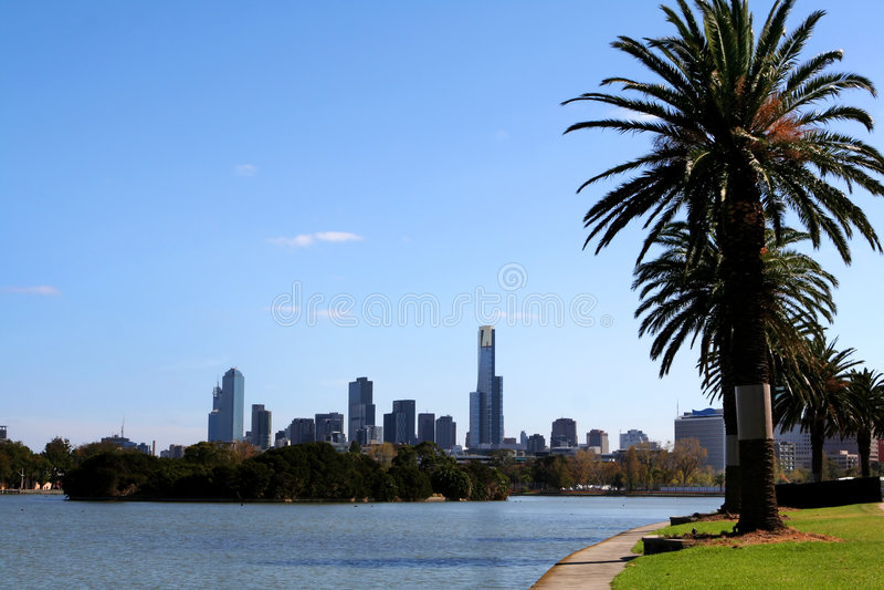 Melbourne fotografia stock