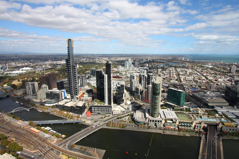 Melbourne royalty free stock images