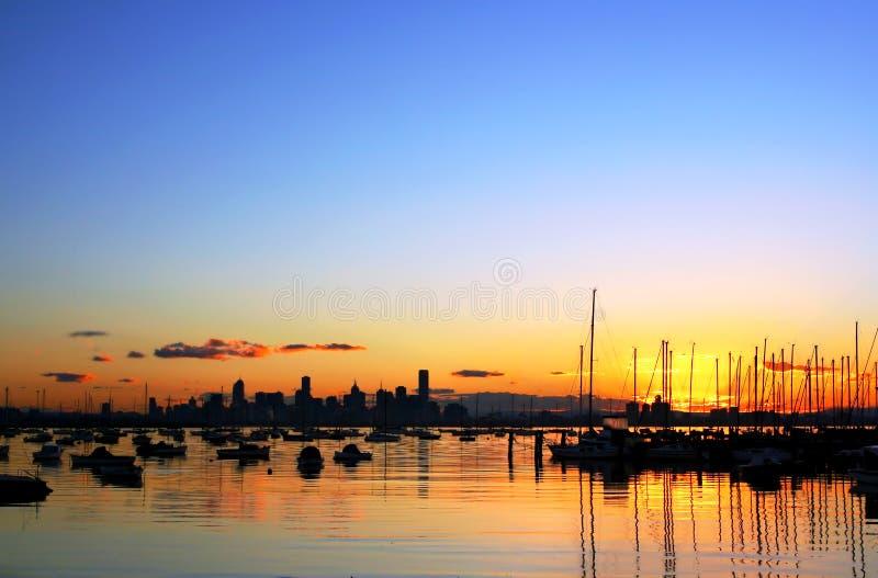 Melbourne, Australia stock photography