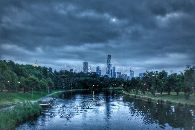 Melbourne Australien fotografering för bildbyråer