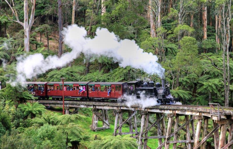 MELBOURNE AUSTRALIEN - AUGUSTI 24, 2015 royaltyfri foto