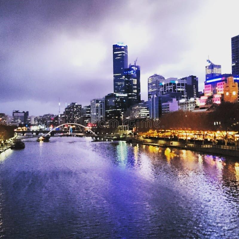 Melbourne belle photographie stock