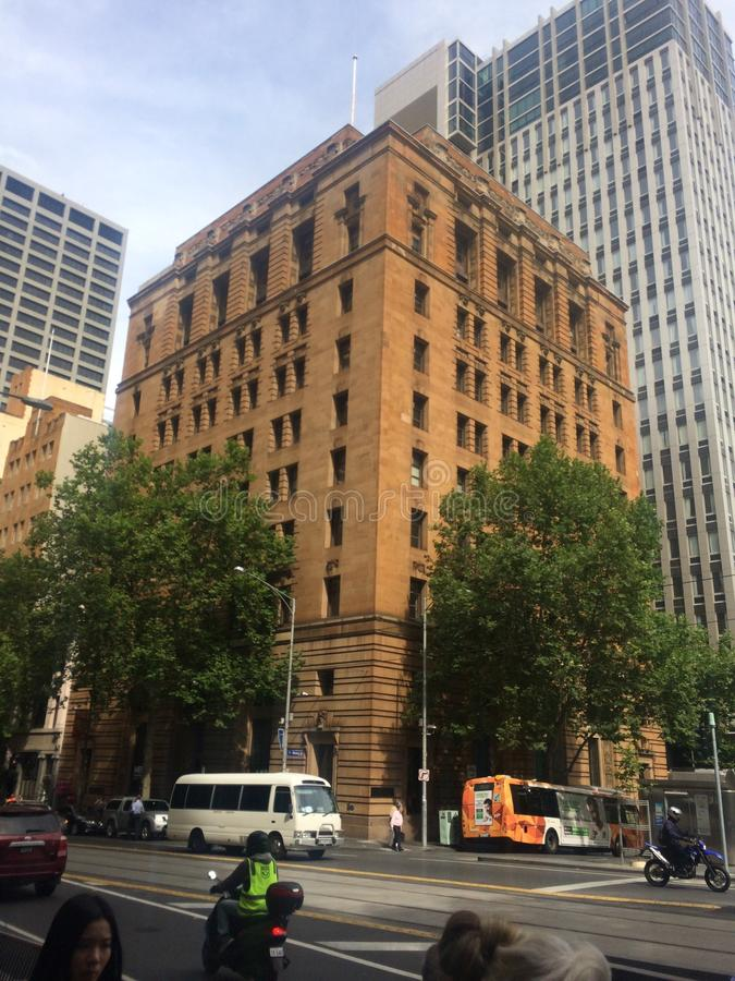 Melbourne CBD photographie stock