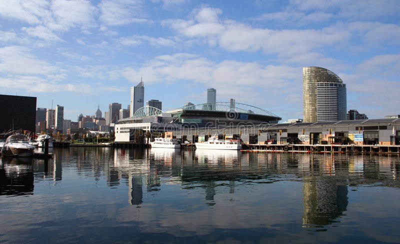 Melbourne CBD, Australia royalty free stock images
