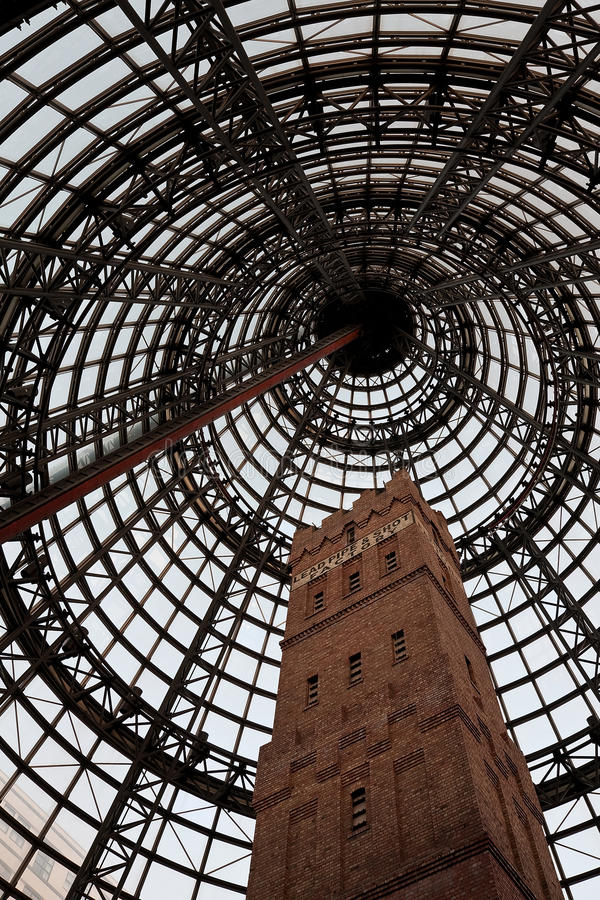 Melbourne Central royalty free stock images