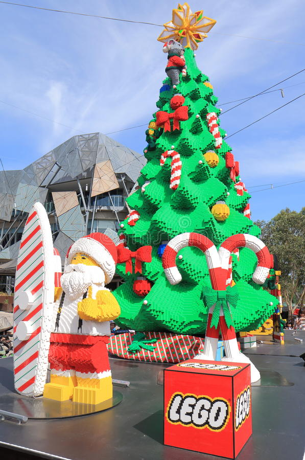Download Melbourne Christmas Tree Australia Editorial Photography   Image  Of Christmas, Australia: 63366127