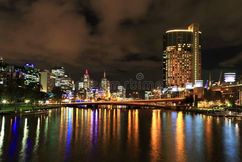 Download Melbourne city skyline stock image. Image of landmarks - 14834527