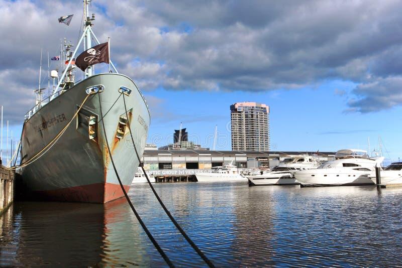 Download Melbourne Docklands editorial photo. Image of central - 14813656