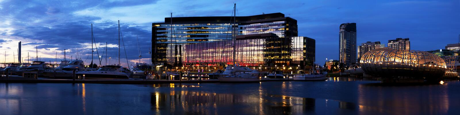 Download Melbourne Docklands Royalty Free Stock Photography - Image: 17820337