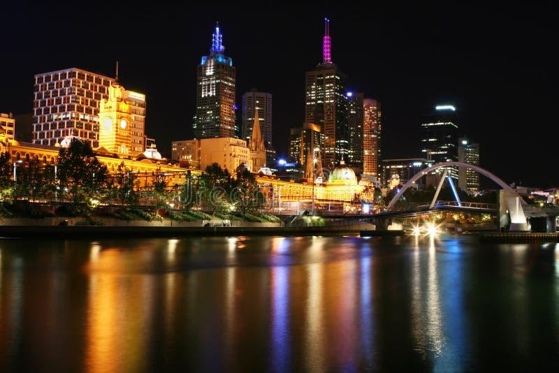 Melbourne - estación de la calle del Flinders fotografía de archivo libre de regalías