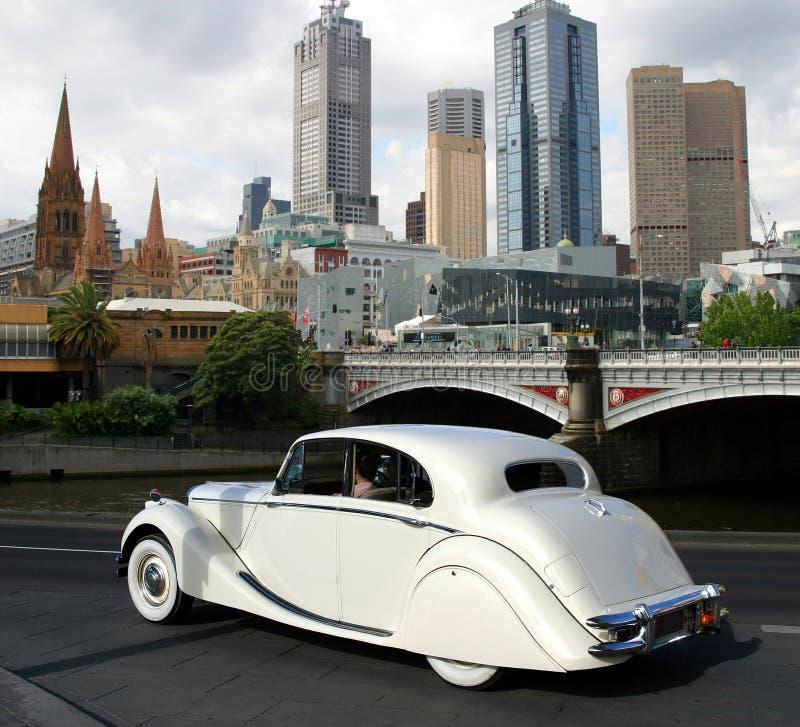 Melbourne im Stadtzentrum gelegen lizenzfreie stockfotos