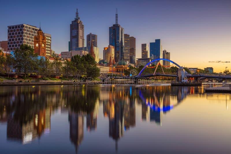 Melbourne miasta zdjęcia stock