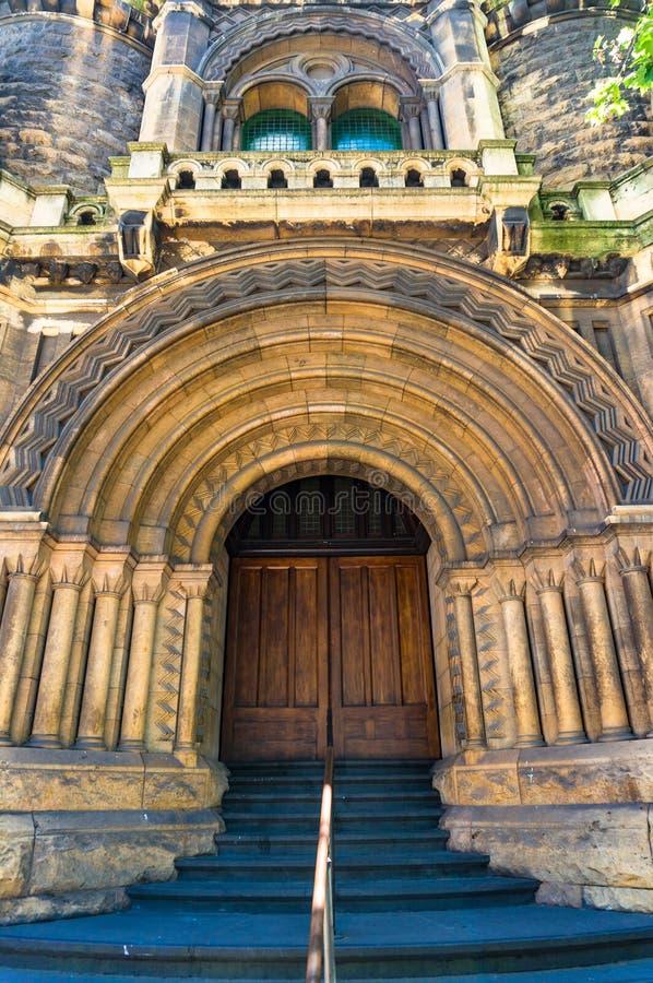 Melbourne miasta sądu budynek zdjęcia royalty free