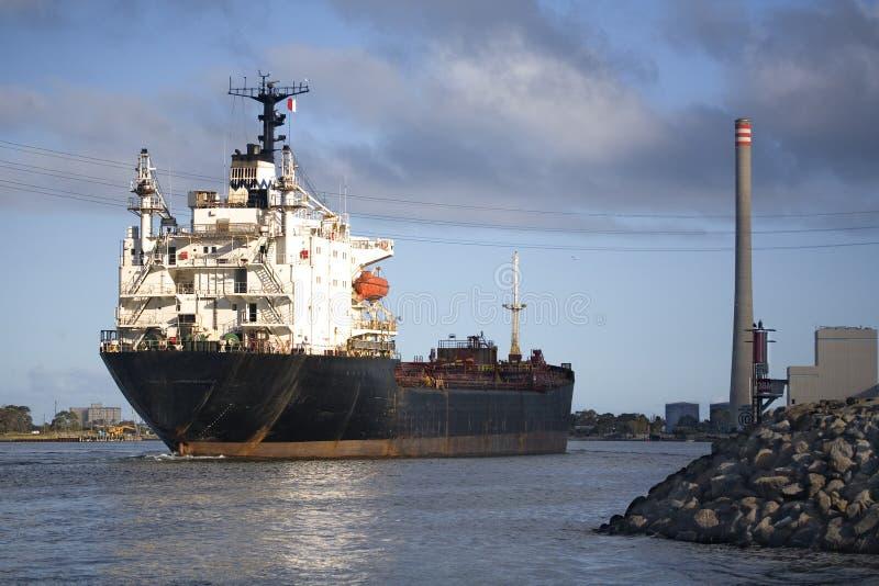 Download Melbourne's Yarra River stock photo. Image of ship, port - 2806272