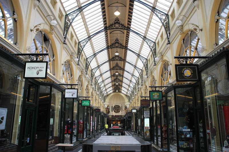 Download Melbourne shopping editorial photo. Image of vintage - 18025811