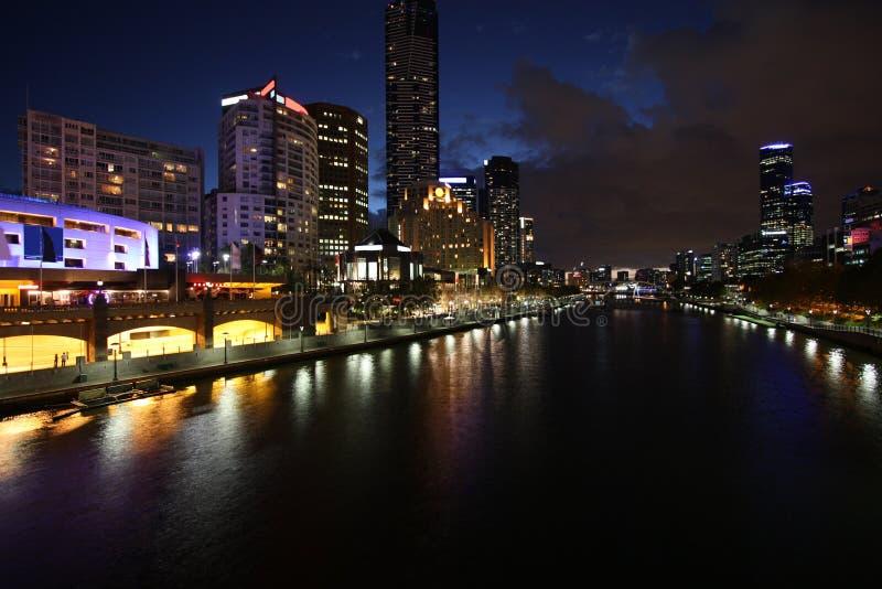 Melbourne-Skyline stockfotografie