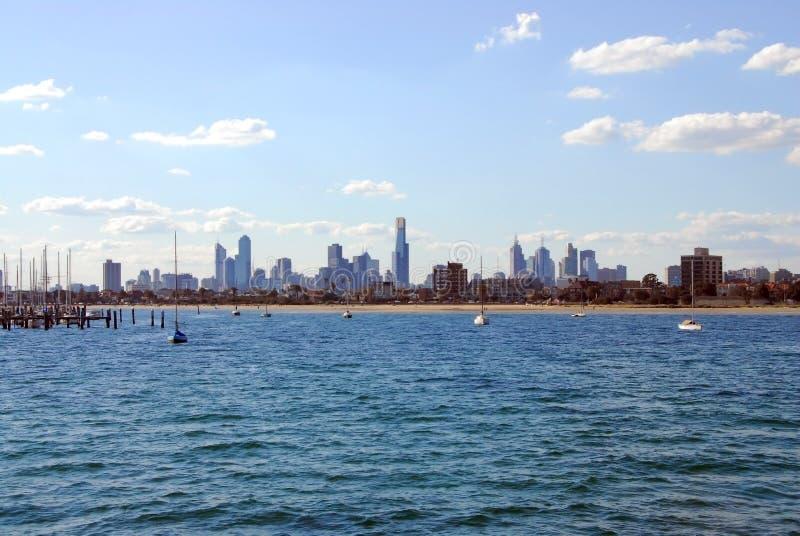 Melbourne Skyline. Stock Images