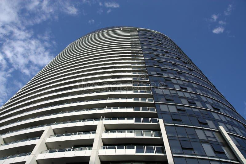 Melbourne skyscraper royalty free stock photo