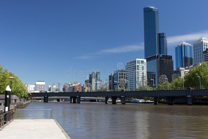 Melbourne Southbank Lizenzfreie Stockfotografie