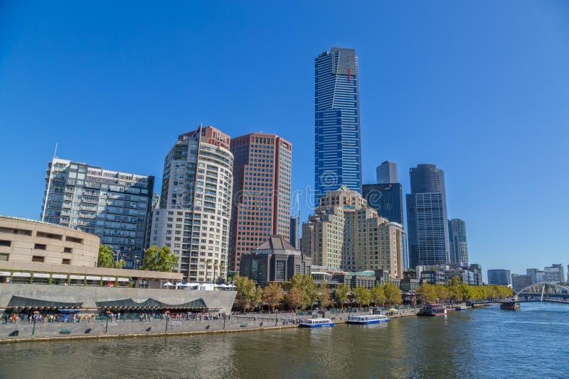 Melbourne Southbank imagen de archivo